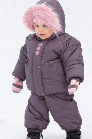 Детские зимние комплекты для девочек