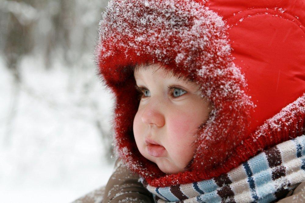 Дети в морозе картинки